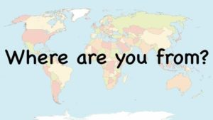 Where Are You From? Countries Song.